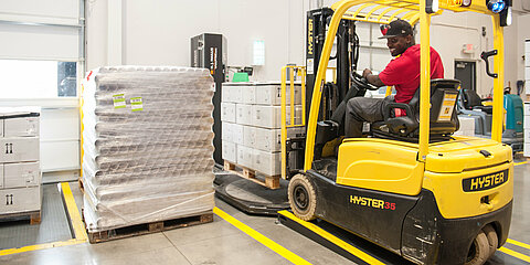 forklift driver at coroplast tape corporation in rockhill